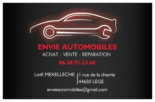 Envie Automobiles à Lege (44) - Achat véhicule neuf et occasion récente